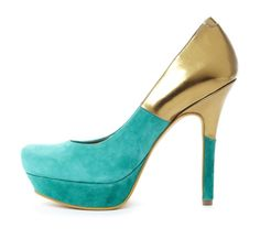 turquoise and gold beauty