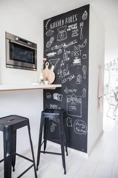 Creatief met krijt: 14x krijtmuren in huis - Meubeltrack blog