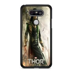 Loki Tom Hiddleston Collage LG G5 Case Dewantary