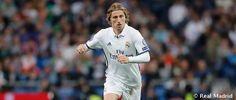 Luka Modric has a knee injury will be out for 1 month.