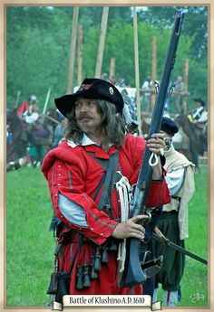 Musketeer by ~Marqoni from the Battle of Klushino of 1610, during the Polish-Muscovite War