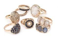rings  #jewelry  #bands  #stones  #gold  #fashion