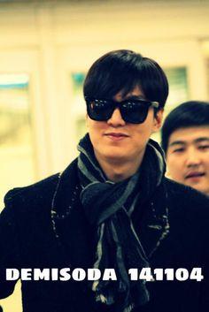 141104 Lee Min Ho @ Gimpo Airport back from Shanghai | Lee Min Ho Bulgaria