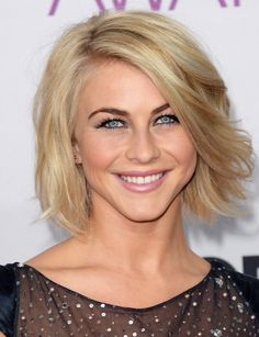 Julianne Hough Hair - We love this free and easy bob!