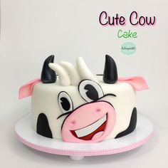 Torta Vaquita - Cow cake by Giovanna Carrillo