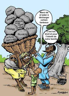 En Afr d l'Ouest, les fem agricultrices n représentent q 8% d propriétaires fonciers et n'accèdent q'à 10% du crédit