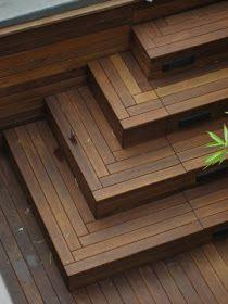 Nice deck steps