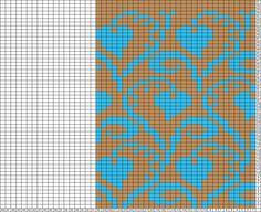 Gráficos Tricksy Knitter: corazones copiar (87927) copia de copia (88009) copia (88.013) por suziefromhants