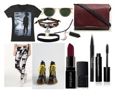 Random by drmartenslover on Polyvore featuring polyvore, fashion, style, Calvin Klein, Dr. Martens, Kenneth Cole, Bling Jewelry, Garrett Leight, Bobbi Brown Cosmetics, Smashbox, Trish McEvoy, NARS Cosmetics and clothing