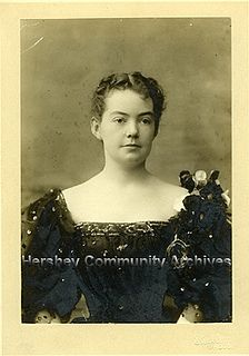 Catherine Hershey, ca.1898 by Hershey Community Archives, via Flickr, Milton Hershey's Wife