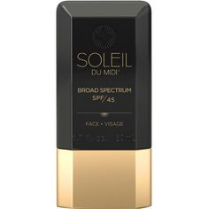 SOLEIL TOUJOURS Face Sunscreen SPF 45 (730.675 IDR) ❤ liked on Polyvore featuring beauty products, bath & body products, sun care, beauty, makeup, body - sun care and colorless
