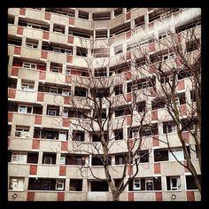 #architecture #building #urban. council estate off #hackney road. #london by szen_volta, via Flickr