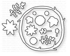 Papertrey Ink - Twig Wreath Die: Papertreyink