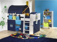 seven thirty three - - - a creative blog: Loft / Bunk Bed No-Sew Felt Tent Tutorial