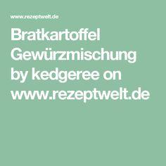 Bratkartoffel Gewürzmischung by kedgeree on www.rezeptwelt.de