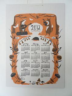 Nicholas John Frith 2012 calendar (SO CUTE!)