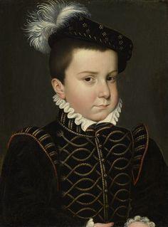 Hercule Francois, Duke of Alencon and Anjou by Francois Clouet, c. 1561