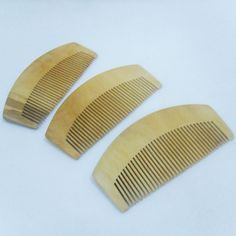 Useful Natural Tooth Peach Wood No-static Massage Hair Brush Wood Comb Hair Styling Tools 88 H7JP