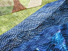 Awesome way to quilt a landscape! By Judi Madsen of Green Fairy Quilts -- all her quilts are amazing.
