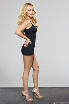 """highheelsgorgeousfemalebodies: """"Hayden Panettiere short dress For more pictures of Beautiful Women like this please follow and visit highheelsgorgeousfemalebodies.tumblr.com """""""