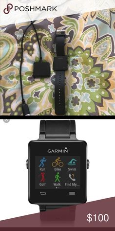 Garmin Vivo Active Garmin Vivo Active Smart watch, in excellent condition. I purchased an Apple Watch so I no longer need it Other