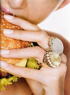 Fashion Inspiration: Vogue Brazil October 2007 | Jolita Jewellery
