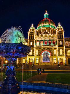 Christmas on Vancouver Island by Nick Kenrick .. ZedZap.., via Flickr