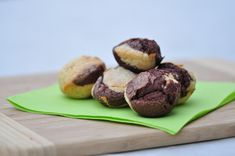 Magdalenas con cacao, madeleines presques espagnoles marbrées