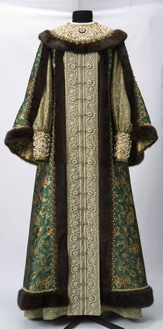 Russian gown