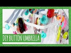 DIY Button Umbrella - HGTV Handmade
