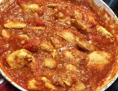 Kurczak Tikka Masala - Blog z apetytem Calzone, Garam Masala, Pepperoni, Chili, Blog, Kitchen, Diet, Cooking, Chile