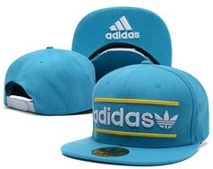 e596ce35e5d Mens Adidas Originals Heritage USA Top Seller Best Quality Fashion Snapback  Cap - Aqua   Gold