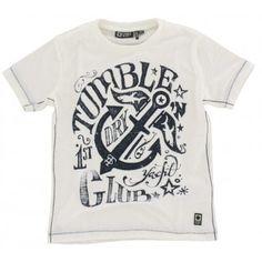 Tumble n Dry - T-shirt Gienpool wit