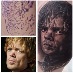 Tyrion Lannister - Portrait - Done at Tattoo Tea Party
