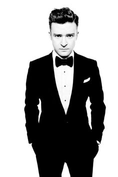 Justin Timberlake    He be on his suit & tie