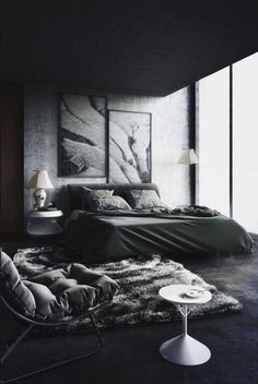 Cool Masculine Bedroom For Mens Blanc And Gray Colors Apartment Beds Men