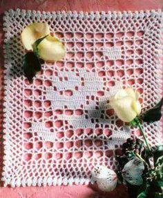 Needle-Works Butterfly: Filet Crochet Doilies With Patterns Filet Crochet, Crochet Borders, Crochet Motif, Crochet Doilies, Crochet Stitches, Crochet Patterns, Bonnet Crochet, Altar Cloth, Chrochet
