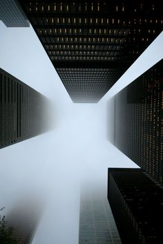 The Missive: Bank Towers in the Fog and Rain (Toronto)by Tony Lea, 2009