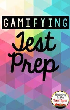 Are you looking for test prep motivation? These ideas and tips for turning test prep into games are sure to have your students begging for more! The 3rd one is my all time favorite!