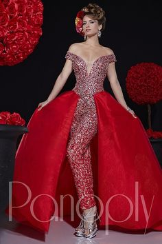 Everything Formals - Panoply Pageant Long Gown 44264, $1,160.00 (http://www.everythingformals.com/Panoply-Pageant-44264/)