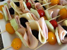 Healthy Sandwich kabobs