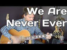 http://www.yourguitarsage.com How to play guitar to We Are Never Ever Getting Back Together by Taylor Swift.  This is a fun little song by Taylor and when you are done watching this quick video you will be able to play her song We Are Never Ever Getting Back Together.  Thanks for watching!  Show some love and Share this video if you found it to ...