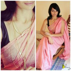 Loooooooooove the texture and colour of the saree... 'Bhang' by Swathy