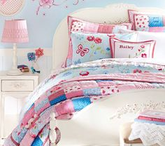 Bailey Quilted Bedding | Pottery Barn Kids