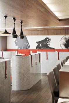 Sofitel Lyon Bellecour - Lyon, France.  Materials inspiration for a kitchen.