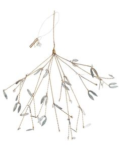 Adorn your home this winter with this gorgeous from Mistletoe by Walther & Co. It is made from materials that are bent, braided and folded to form a range of different styles and shapes. It will look lovely hanging from your Christmas tree to add some sparkle and love or hang in your home to add that festive feel.