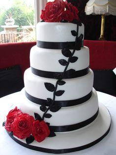 I love wedding cakes!