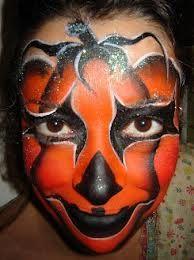 Citrouille, maquillage enfant  make up child