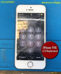 iPhone Cracked Screen Instant Replacement Repair in 30 Minutes Iphone Repair, Mobile Phone Repair, Iphone 5c, Cracked Screen, East London, Peace Of Mind, Phone Cases, Glass, Free