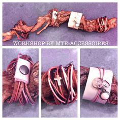 Leren armband, workshop mtr-accessoires